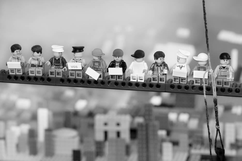 «Lunch a tops Skycaprer», la imagen más representativa de la historia de la fotografía